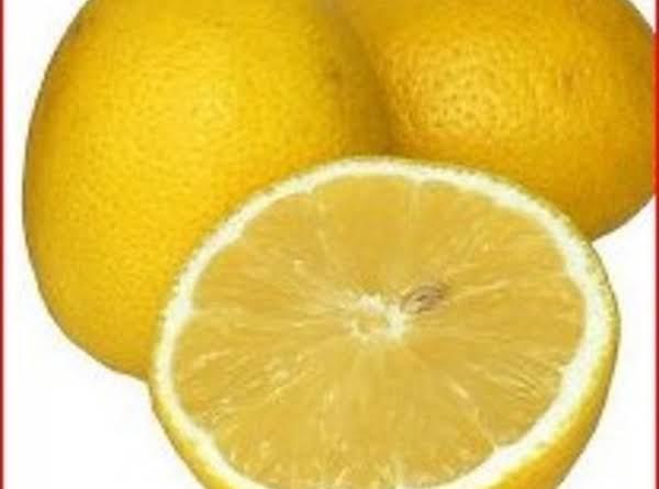 Lemon Filling Recipe