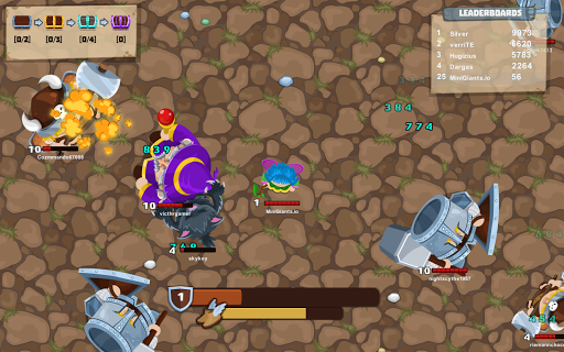 MiniGiants.io apktram screenshots 1
