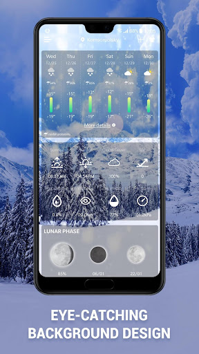 Screenshot for Weather Forecast App & Radar Widget in United States Play Store