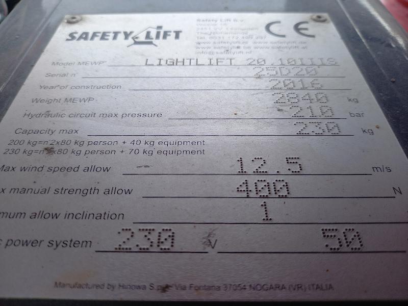 Picture of a HINOWA LIGHTLIFT 20.10 IIIS