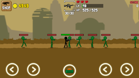 One Gun & Stickman Screenshot