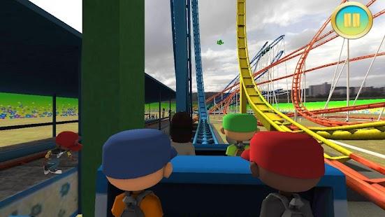 12 Real Roller Coaster Simulator App screenshot
