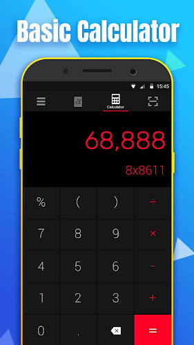 Math Calculator - Solve Math Problems by Camera Android App Screenshot