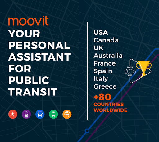 Moovit: Bus Times & Train Times Live Info Screenshot