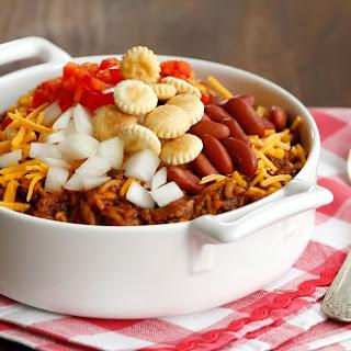 Cincinnati-Style Chili & Rice.