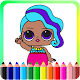 How To Color LOL Doll Surprise Game (game)