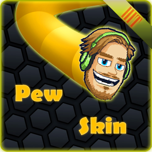 PewDiePie Skin for slither.io 棋類遊戲 App LOGO-硬是要APP
