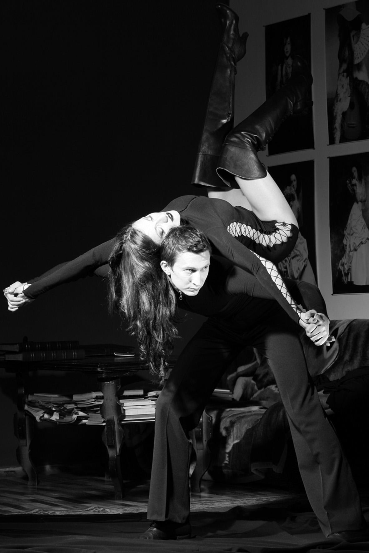 Танцевальное шоу ЕА Мусины в Самаре