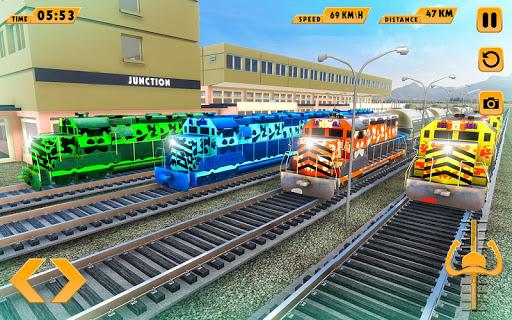 Modern Train Driving Simulator: City Train Games 2.1 de.gamequotes.net 3