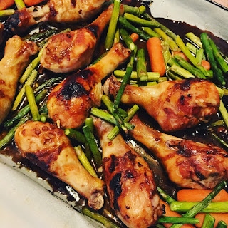 Sheet Pan Teriyaki Chicken Dinner
