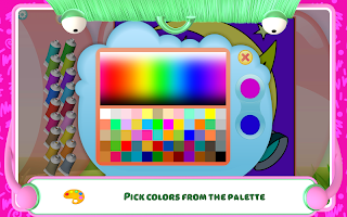Fairies Coloring Book