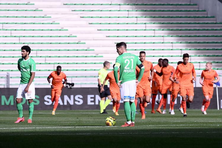 Saint-Etienne enchaîne les défaites