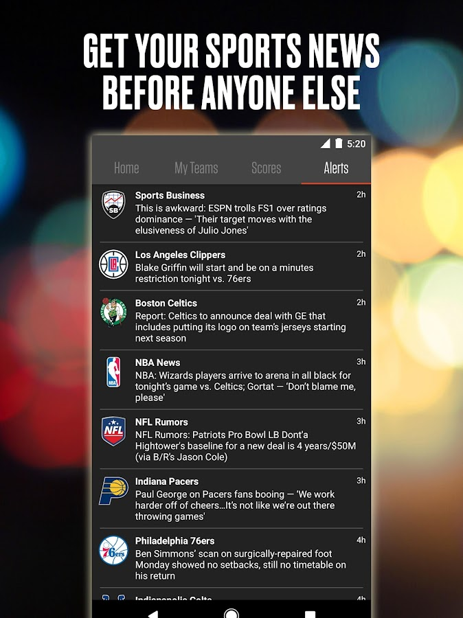 Bleacher Report: Team Stream - Android Apps on Google Play