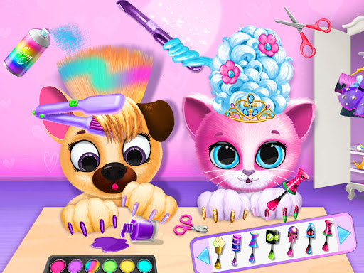 Kiki & Fifi Pet Beauty Salon - Haircut & Makeup apkpoly screenshots 12