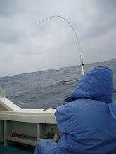 Photo: 潮も速い! 魚も大きそう! 「お、重たい・・。」