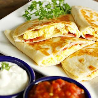 Breakfast Quesadillas.