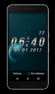 Universal Clock Live Wallpaper - náhled