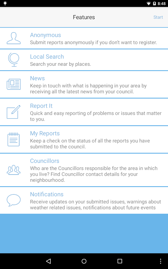 My Council Services UK & IE- screenshot