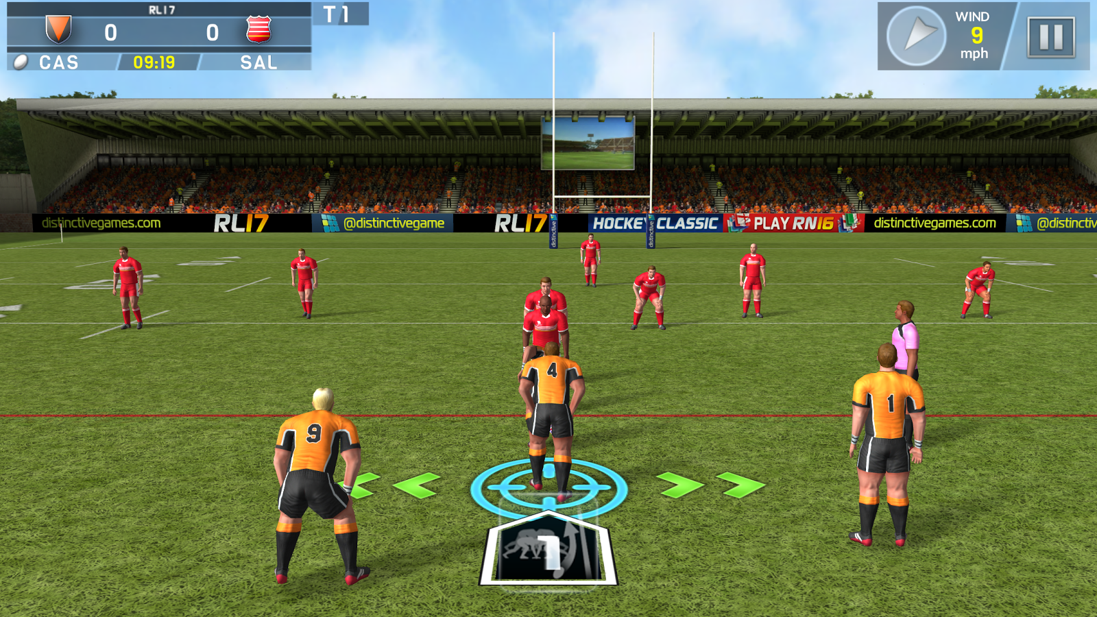 Rugby League 17- screenshot