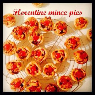 Florentine Rudolph Mince Pies