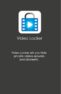 Video Locker - Hide Videos - screenshot thumbnail