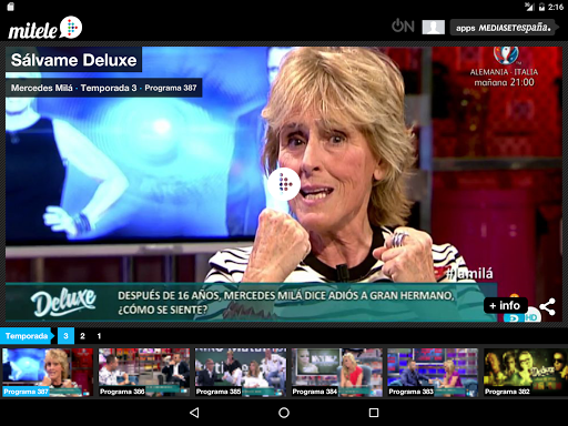 Download Mitele - TV a la carta Google Play softwares - awoPSCRPbKiQ ...
