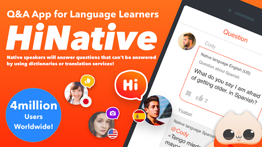 HiNative - Q&A App for Language Learning 6.22.2 screenshots 1