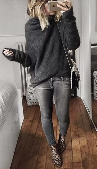 Image result for winter jumper and jeans
