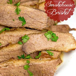Slow Cooker Smokehouse Brisket