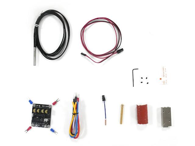CLEARANCE - E3D SuperVolcano Starter Pack - 3.00mm - (12v)