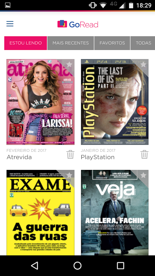 Go Read - Revistas Digitais- screenshot