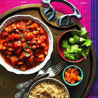 Moroccan Vegetable Stew In The Slow-cooker.