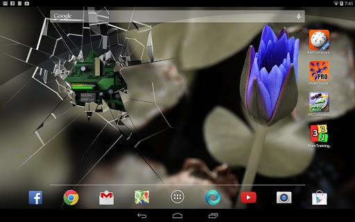 Cracked Screen Gyro 3D PRO Parallax Wallpaper HD Screenshot 5
