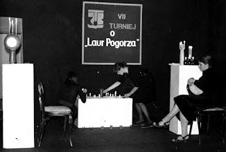 """Photo: połowa lat 70-tych, Teatr """"Spójnik"""", opiekun: Z. Gołębiowska-Tabaszewska"""