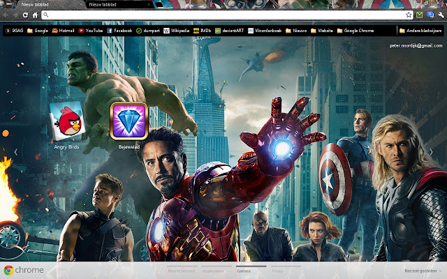 Avengers Theme For Android