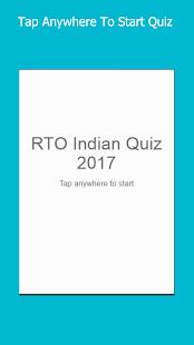 RTO Quiz - náhled