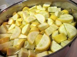 Using a large pot with enough salted water to cover, bring squash, onion, &...