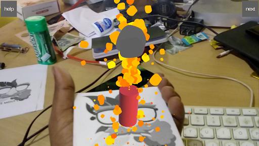 Diwali Virtual Crackers 3D AR