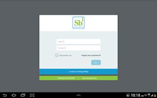 Screenshot of Sb1 FCU eBanking