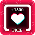 TikBooster for Tiktok followers & fans & like free icon