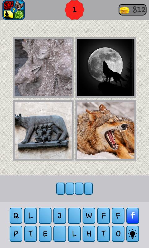 What word 4 pics - screenshot