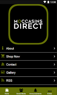 Moccasinsdirect.com- screenshot thumbnail