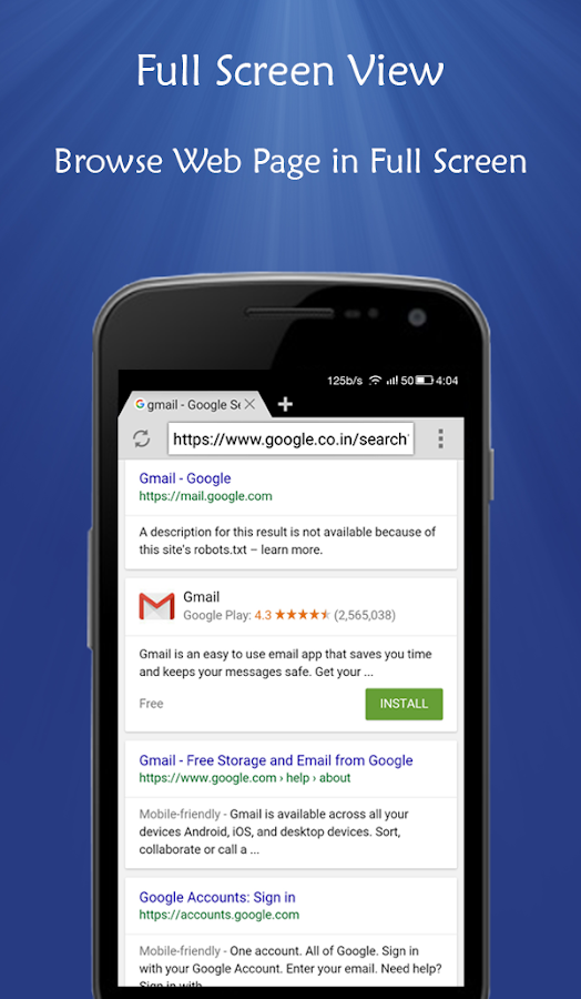 Rapid Browser - Fast & Smooth- screenshot