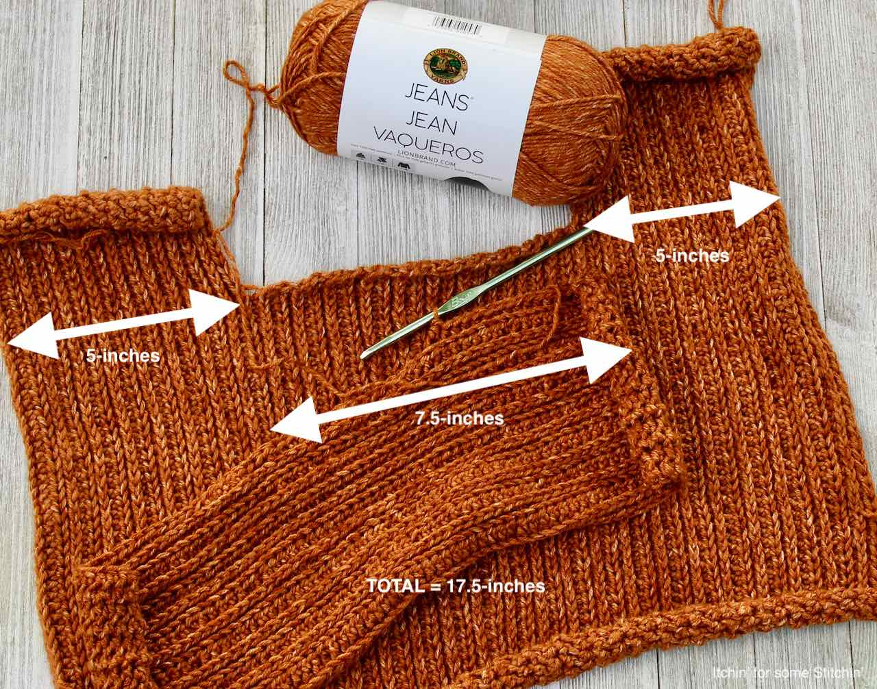 Assembling the Easy Crochet Knit look Sweater by www.itchinforsomestitchin.com