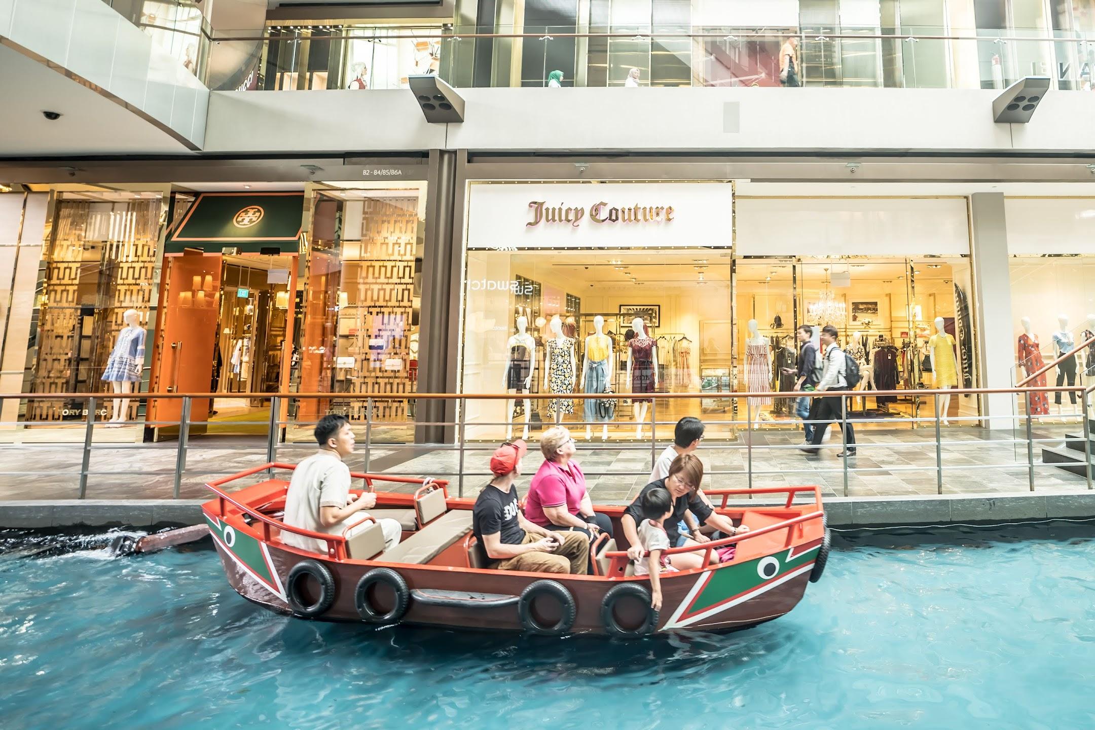 シンガポール マリーナベイ・サンズ Sampan Rides3