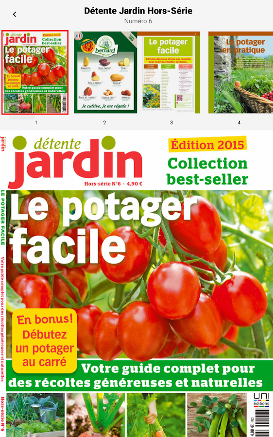 d tente jardin le magazine android apps on google play. Black Bedroom Furniture Sets. Home Design Ideas