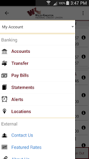 WKFCU Mobile Banking- screenshot thumbnail