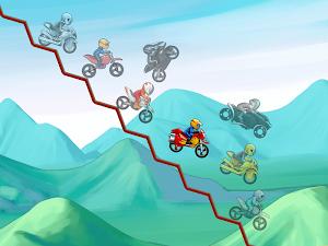 6 Bike Race Free - Top Free Game App screenshot