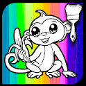 Animal Zoo Park Coloring Book icon