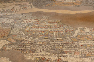 Photo: The oldest surviving original cartographic depiction of the Holy Land